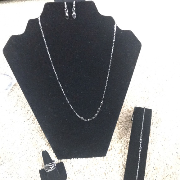 paparazzi Jewelry - Necklace, bracelet, earrings, and ring